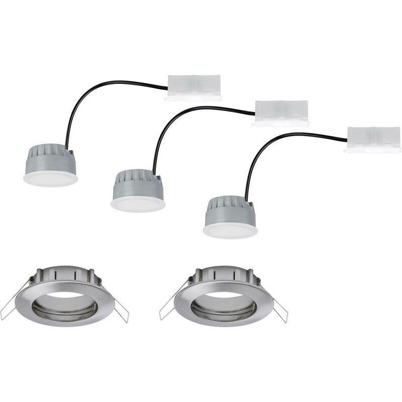 PAULMANN Spot LED encastrable pour salle de bains Paulmann Coin 93958 LED