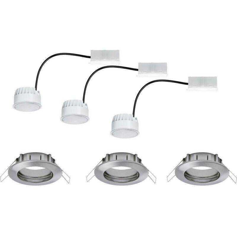 PAULMANN Spot LED encastrable pour salle de bains Coin 93976 LED intégrée