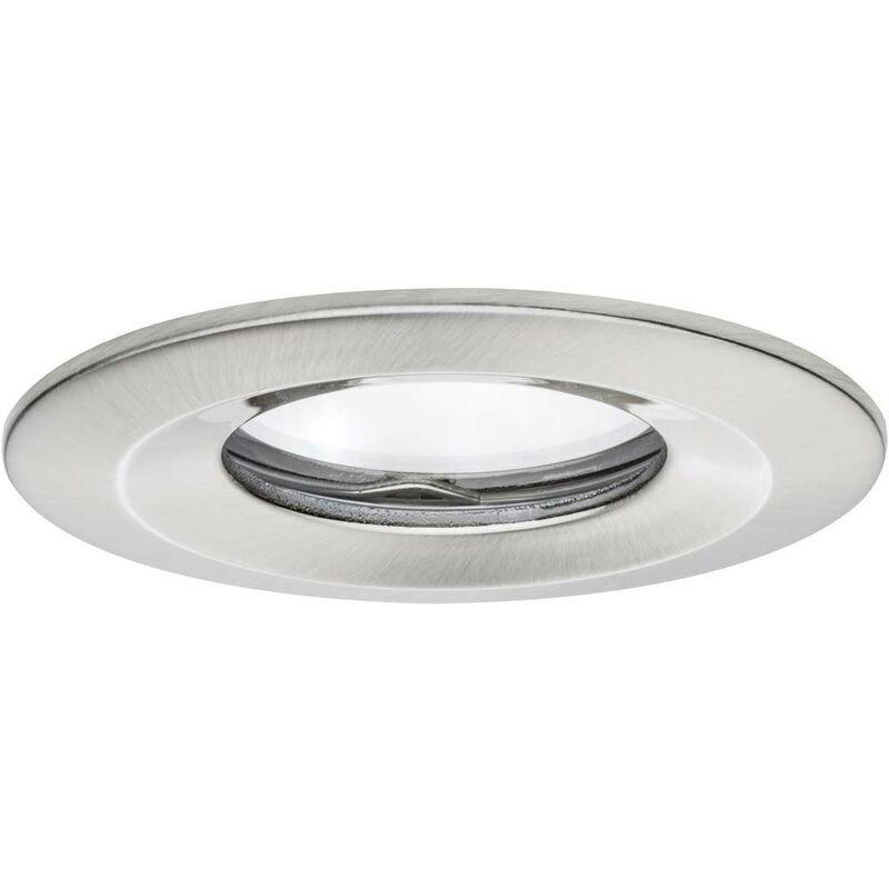 PAULMANN Spot LED encastrable pour salle de bains Coin Slim 93882 LED intégrée