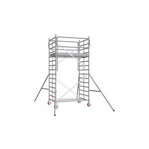 ECHAFAUDAGE DIRECT - MATISERE I. Echafaudage roulant alu - hauteur de travail max 11.90m - Publicité