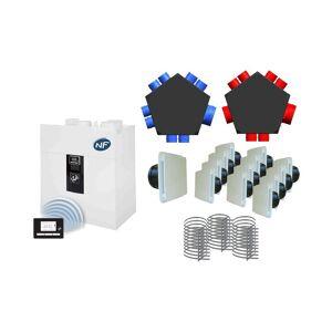 UNELVENT VMC DF haute performance - IDEO² 325 Radio + Kit P08 UNELVENT - 600085 - Publicité