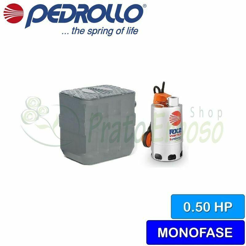 Pedrollo - 40 SAR-RXm 2/20 - Station de relevage de l'eau croupie