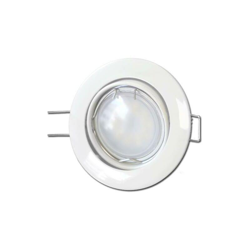 ANROLD 50 X Spots Led GU10 Encastrable Blanc Led 7W rendu 50W 120 Blanc Neutre.