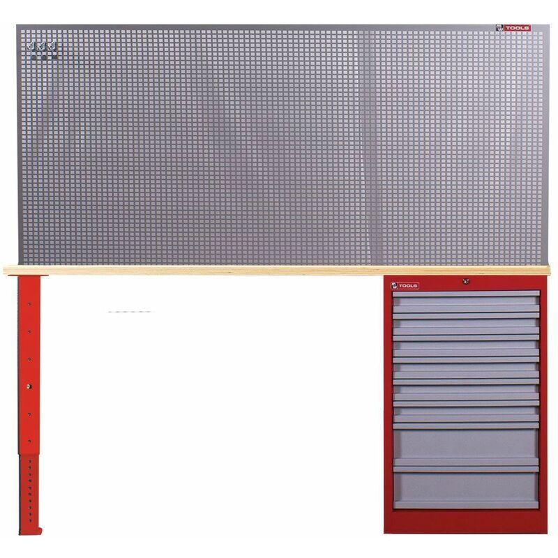 MW-TOOLS Aménagement d'atelier modulaire 120 cm MW-Tools MOD12LA1
