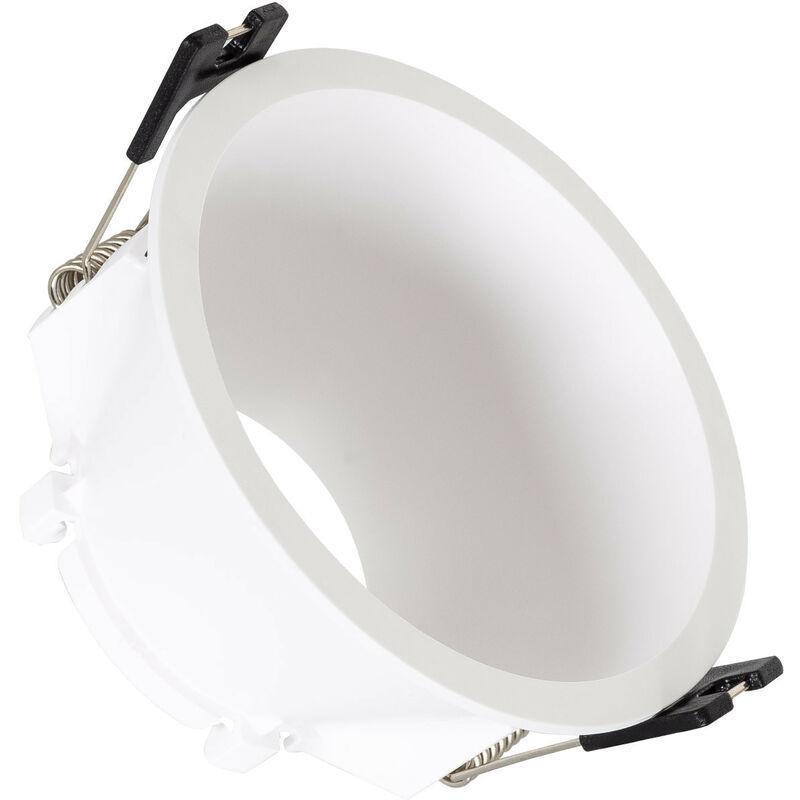 LEDKIA Collerette Conique PC pour Ampoule LED GU10 / GU5.3 Blanc - Blanc