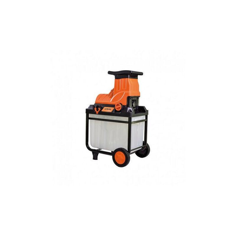 LEMAN PROMO Leman - Broyeur végétaux électrique 2800W 45mm - LOBRE045