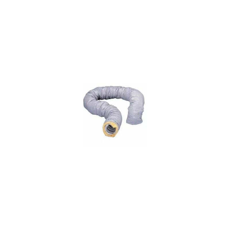 NATHER Gaine PVC isolée ECOSOFT - Diamètre 80mm - 549242 - Nather