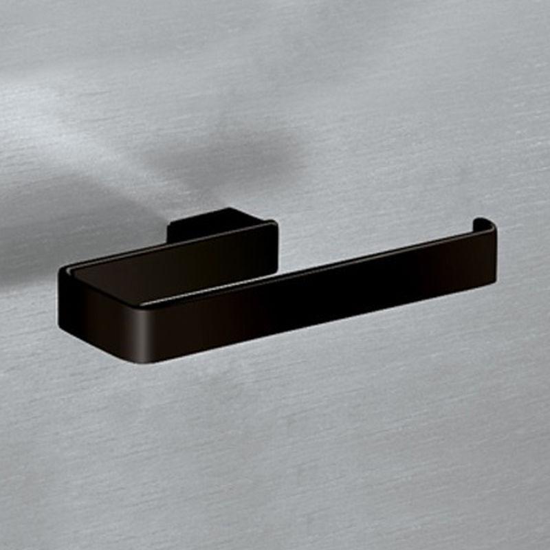 GEDY S.P.A. Gedy Lounge - Anneau porte-serviettes aluminium noir mat (code 5470-14).