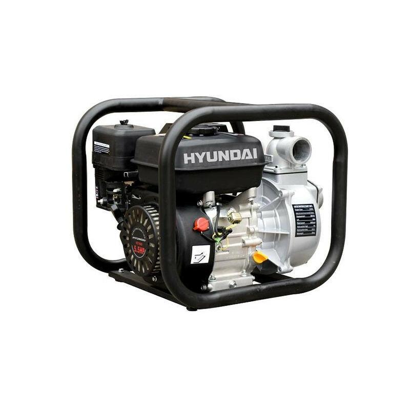 HYUNDAI E HYUNDAI motopompe thermique-210cc-HYT80-e - HYUNDAI E