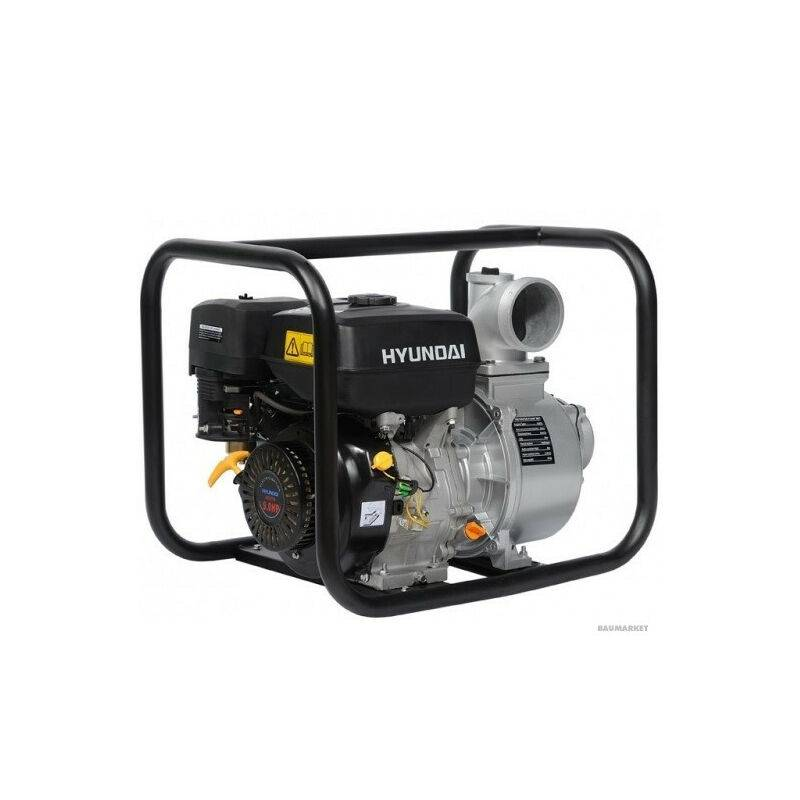 HYUNDAI E HYUNDAI motopompe thermique- 270cc HY100-e - HYUNDAI E