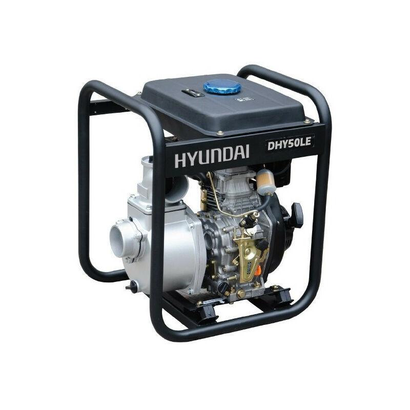 HYUNDAI E HYUNDAI motopompe thermique-296cc-DHY50LE-e diesel - HYUNDAI E