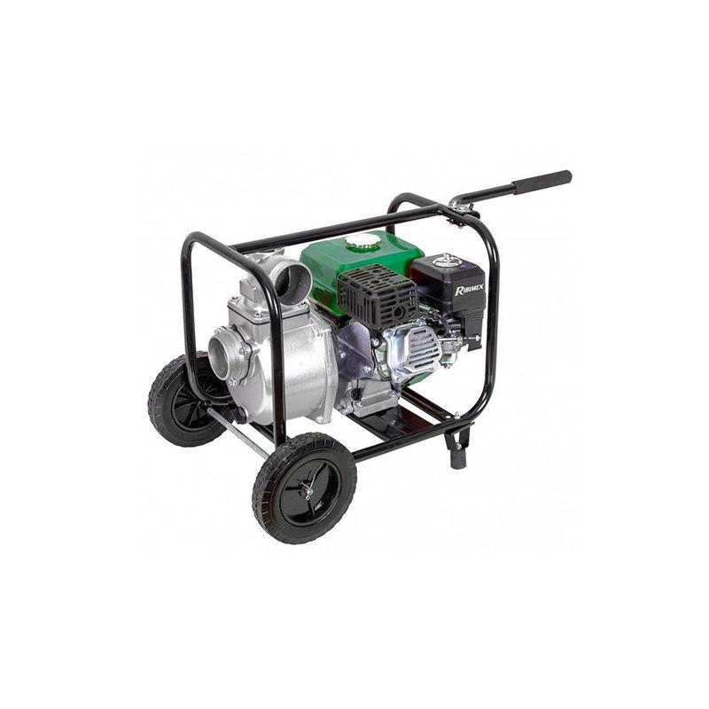Ribimex - Motopompe 33 m3/h, 212 cc - 7 HP - 4 temps, sur roues - -
