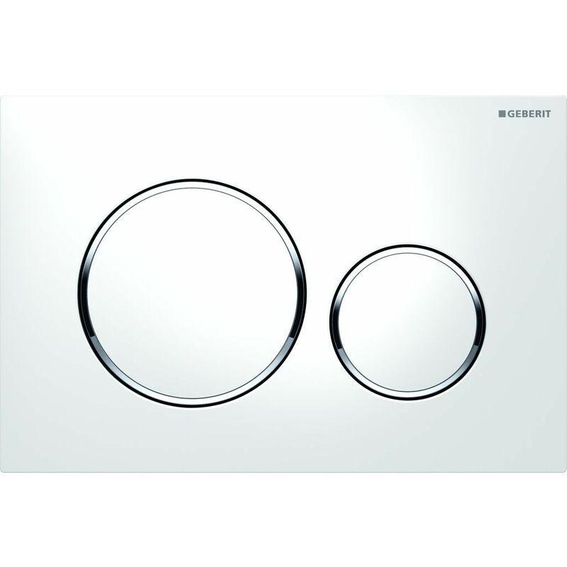 GEBERIT Hitachi-hikoki - Geberit Plaque de déclenchement WC DUOFIX Sigma 20