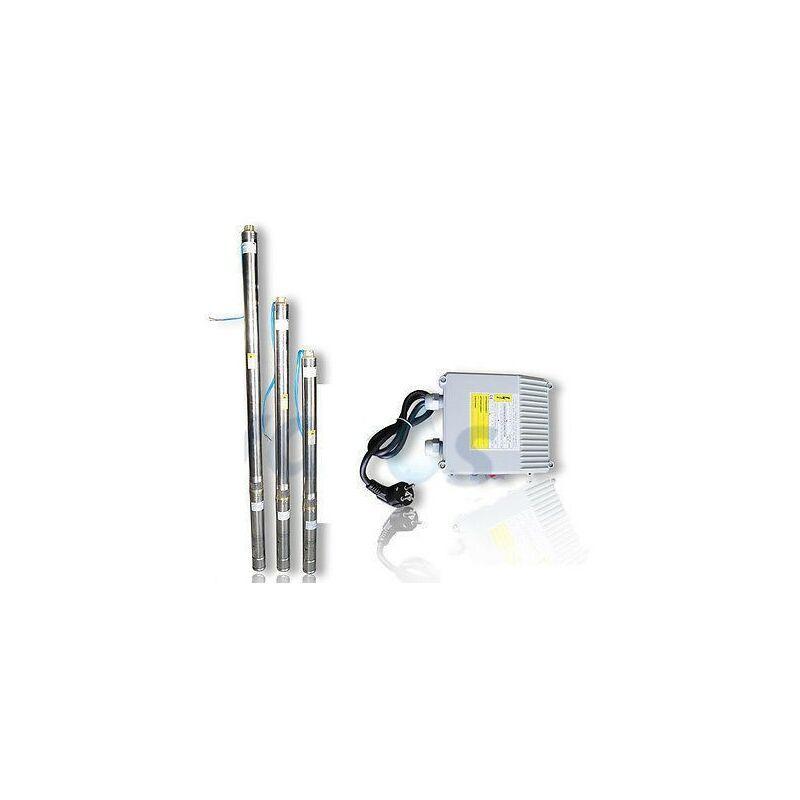 Omni - Pompe immergée 3' pour puits 3T/32 750W 230V - câble 20m