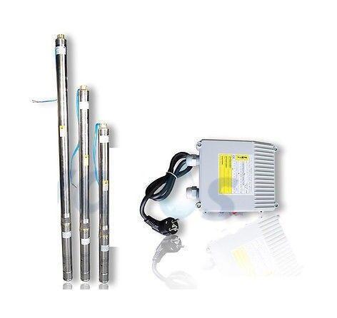 OMNI Pompe immergée 3' pour puits 3T/32 750W 230V 75mm câble1,5m