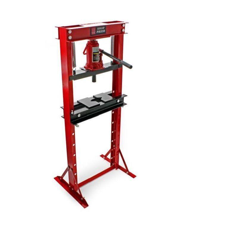 BIGB Presse hydraulique d 'atelier 12 Tonnes sur colonne - BIGB