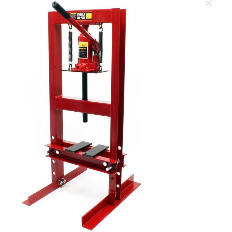 BIGB Presse hydraulique d 'atelier 6 Tonnes sur colonne - BIGB