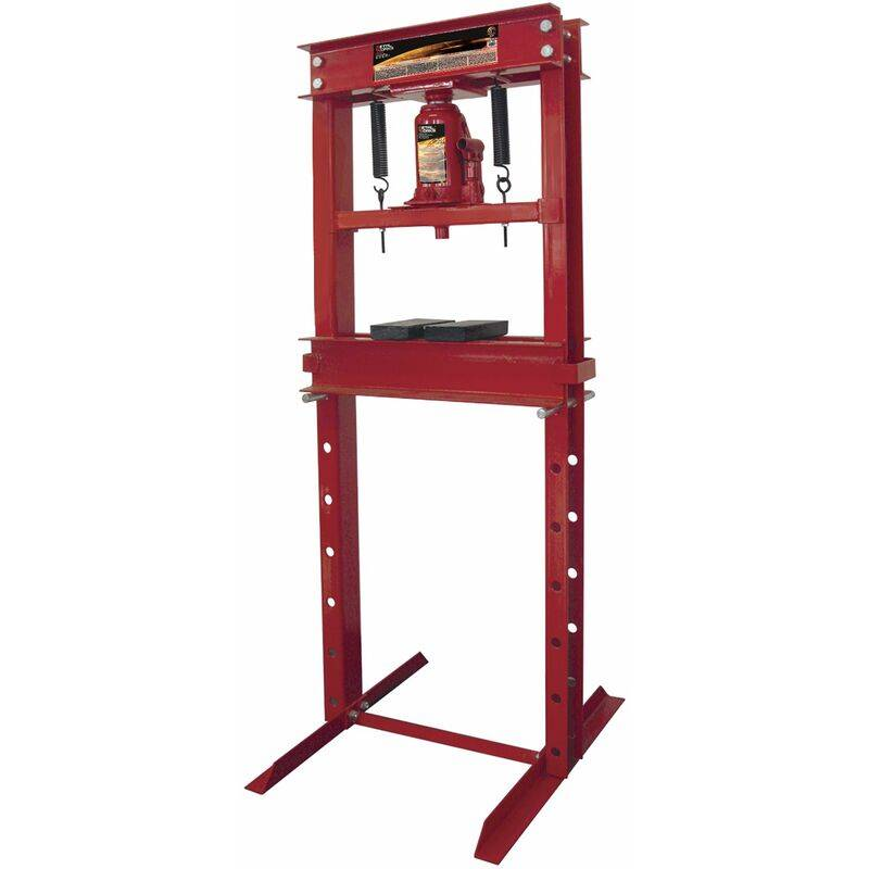 MW-TOOLS Presse hydraulique d'atelier manuelle 20 t MW-Tools CAT520