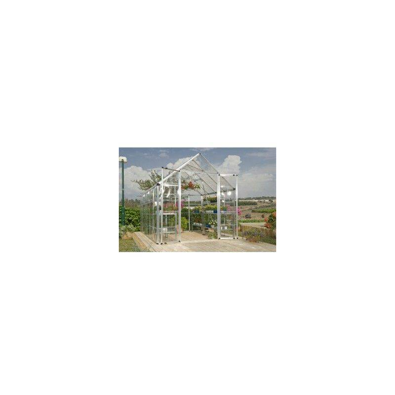 CHALET & JARDIN Serre polycarbonate LUXE 88 - 6,3m² - CHALET & JARDIN