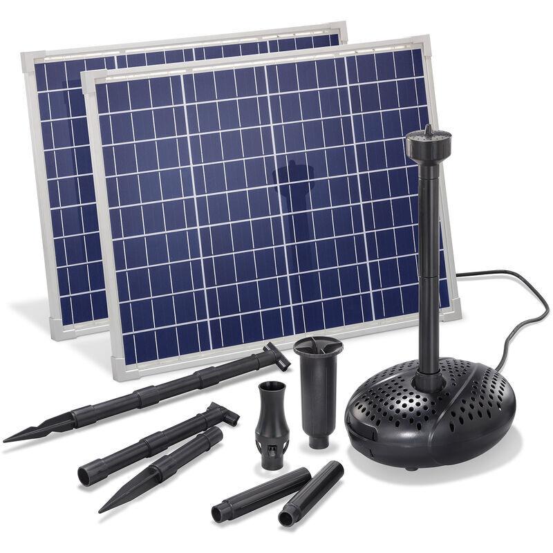 Esotec - Pompe solaire de bassin 100W 3400 l/h Pompe solaire de