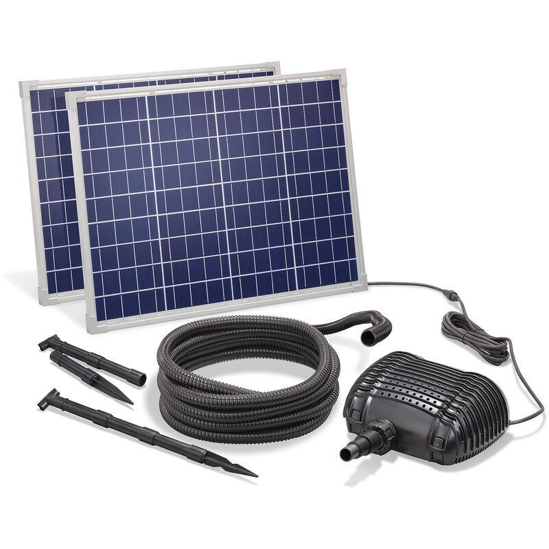 Esotec - Pompe solaire de cours d?eau 100W 2500l / h Pompe solaire