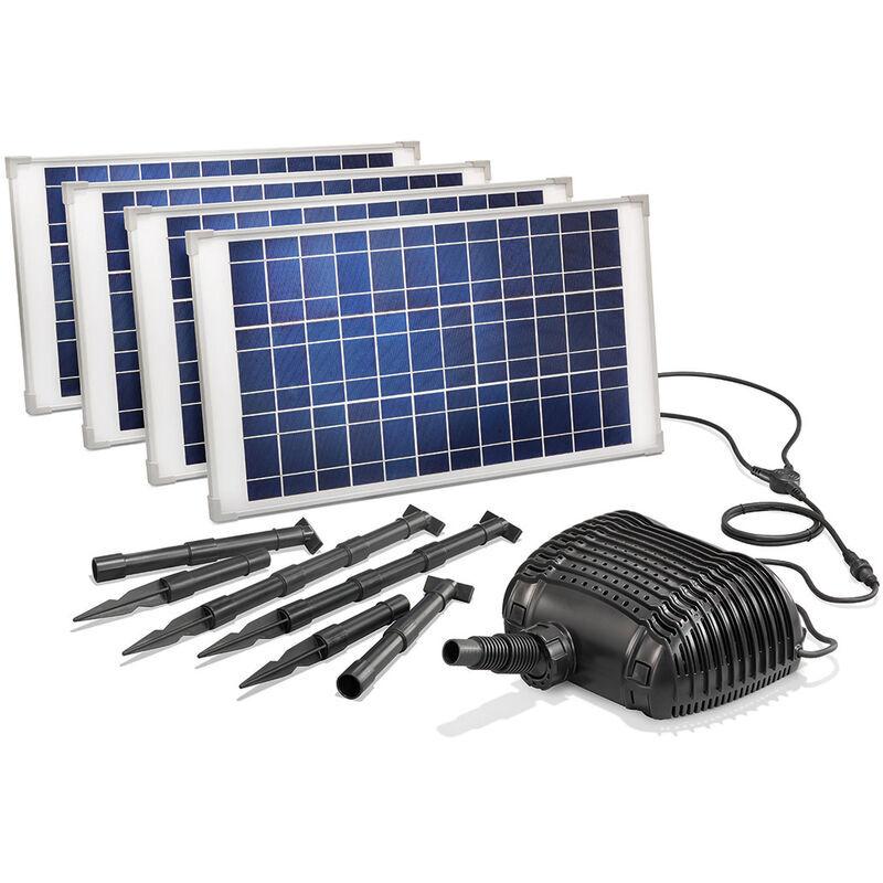 Esotec - Pompe solaire de cours d?eau 100W 5000l / h Pompe solaire
