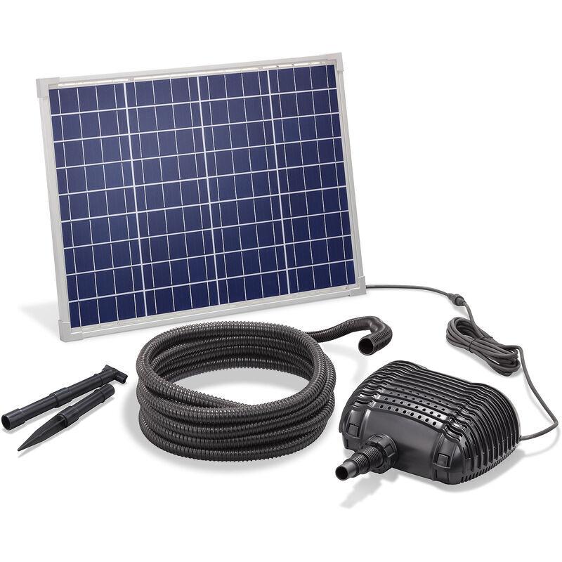 Esotec - Pompe solaire de cours d?eau 50W 2500l / h Pompe solaire Pompe