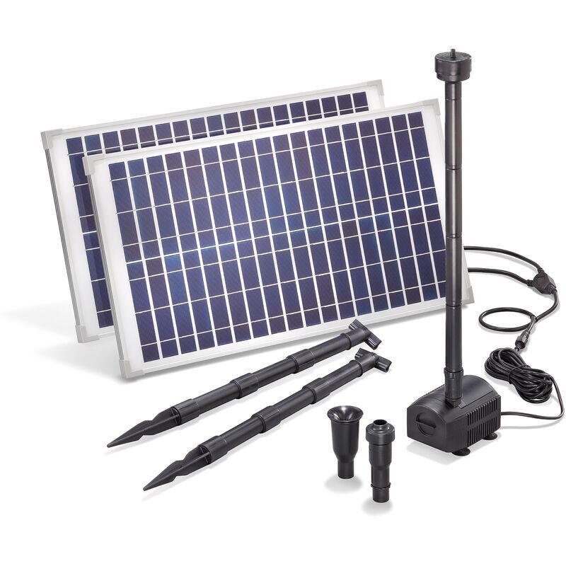 Esotec - Pompe solaire pour bassin 50W 1750 l/h Pompe solaire pour