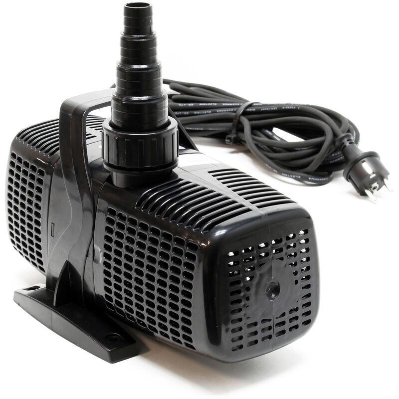 WILTEC SunSun CQP-8000 Eco Pompe de bassin étang pour cours d'eau ou filtre