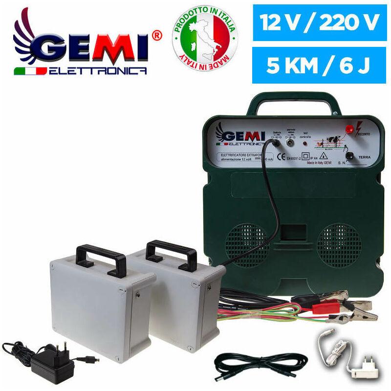 Gemi Elettronica - ELECTRIFICATEUR 12 V De Clôture Électrique Batterie