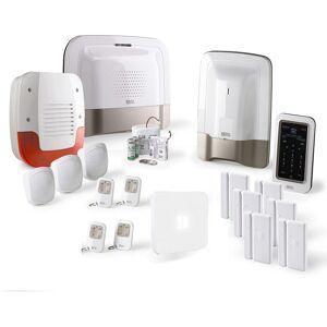 DELTA DORE Alarme maison RTC Delta Dore Pack alarme Tyxal + Kit n°4 - Blanc - Publicité