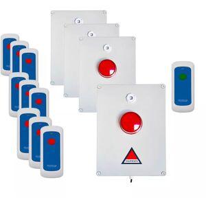 Ultra Secure - Kit 'PPMS 2' alerte / alarme incendie évacuation - Publicité