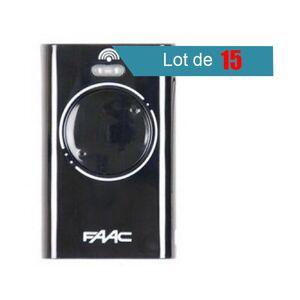 FAAC Télécommande FAAC XT2 868 SLH NOIR Pack de 15 - FAAC - Publicité