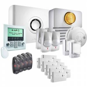 Somfy - Pack alarme Protexiom Ultimate GSM Kit 5 - Blanc - Publicité