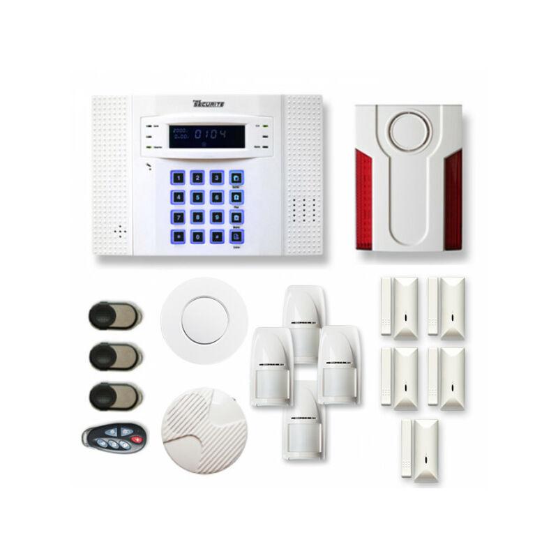 TIKE SéCURITé Alarme maison sans fil DNB22 Compatible Box internet - TIKE SéCURITé