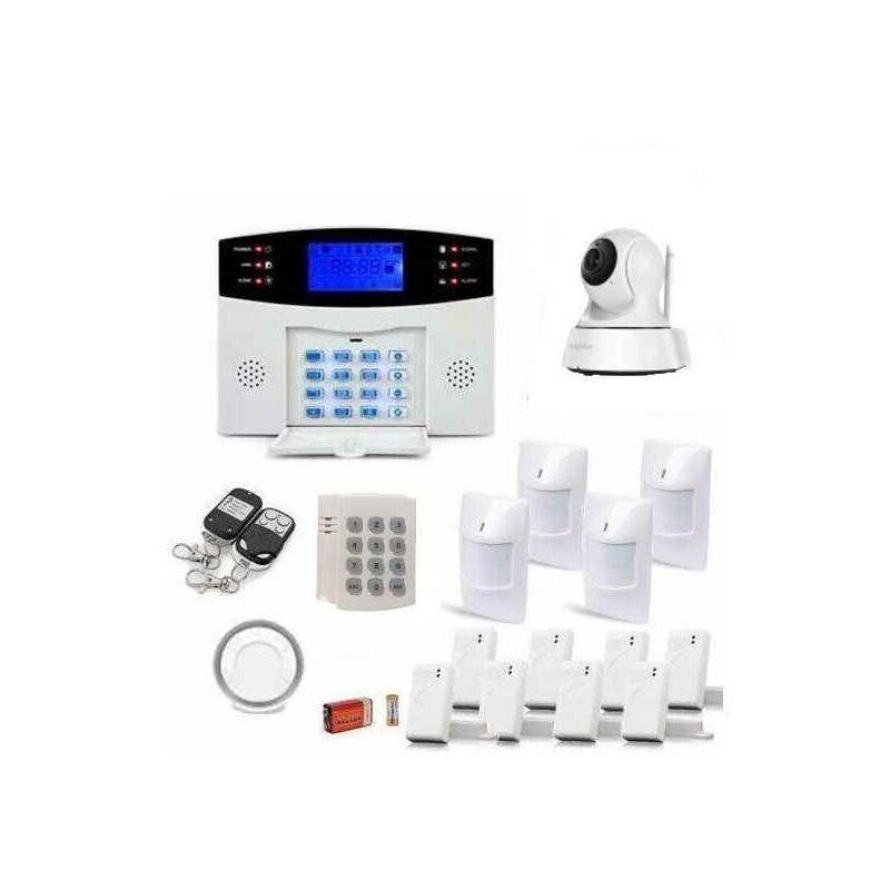 JOD1 Alarme Maison Sans Fil Gsm Et Caméra Ip Wifi - JOD1