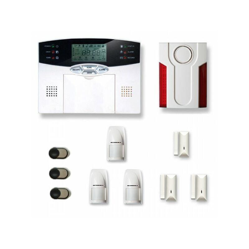 Tike Sécurité - Alarme maison sans fil MN28
