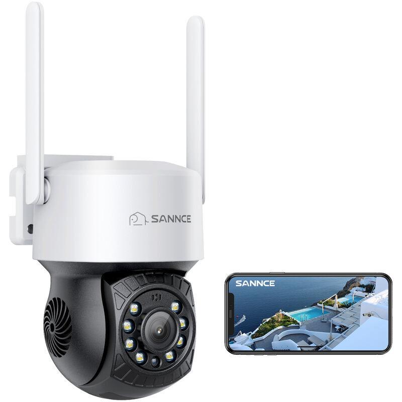 ANNKE 16CH 1080P Lite système de vidéosurveillance 12pcs 2.0MP caméras