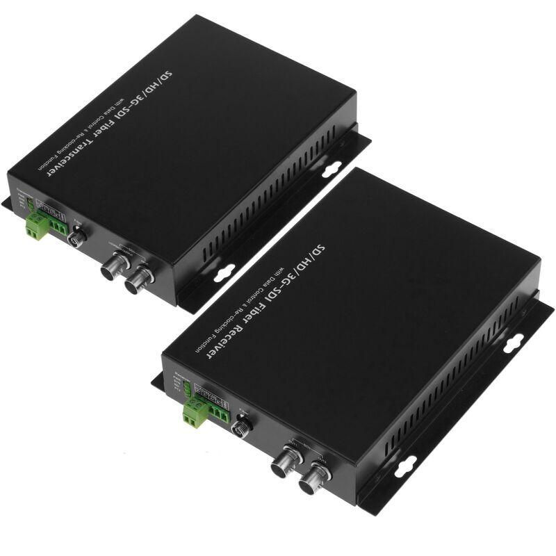 BeMatik - Transmetteur 1 canal HD-SDI à fibre optique RS485 20Km FC