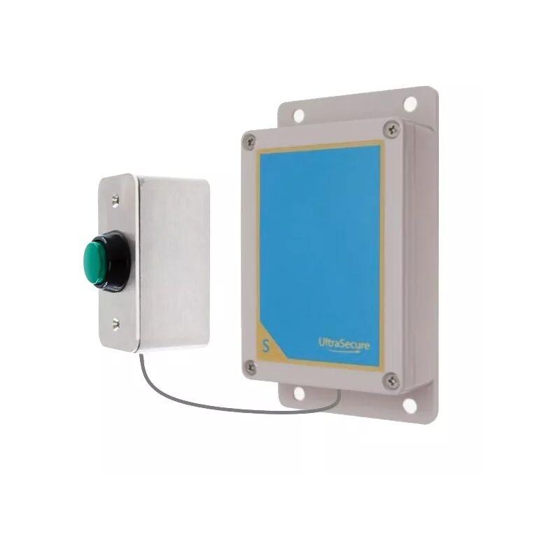 ULTRA SECURE Kit bouton-émetteur sans-fil sonnette autonome extérieure longue