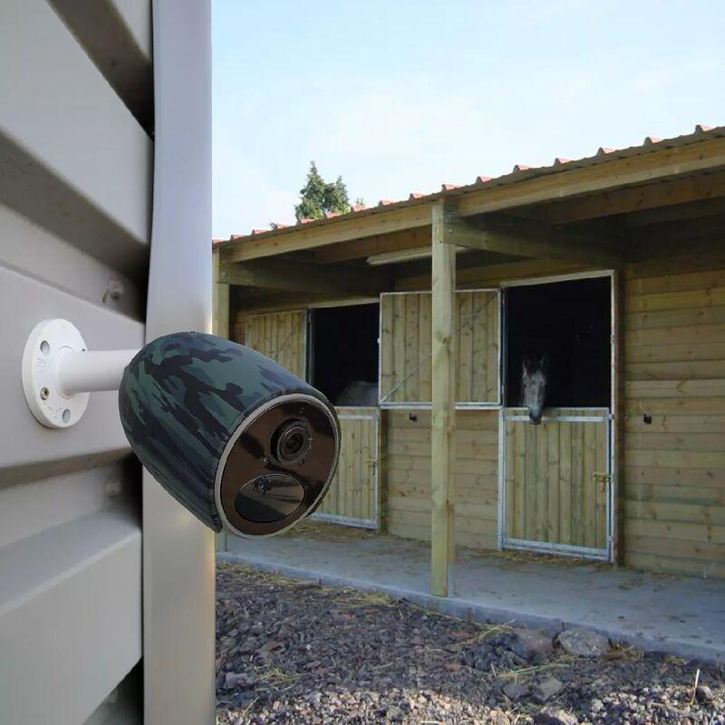 ULTRA SECURE Caméra 4G protection chevaux / élevage 100% sans fil extérieure