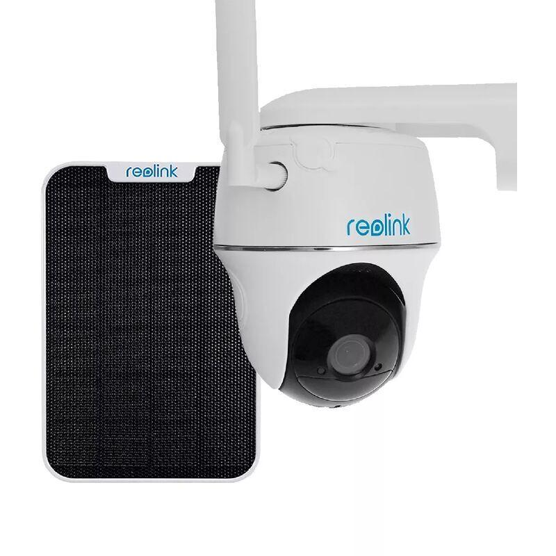ULTRA SECURE Caméra 4G rotative autonome 100% sans fil version FRANCE + panneau
