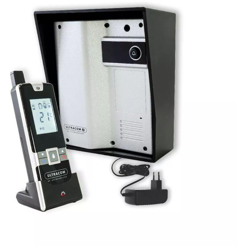 Ultra Secure - Interphone 600 mètres individuel sans-fil- UltraCOM2