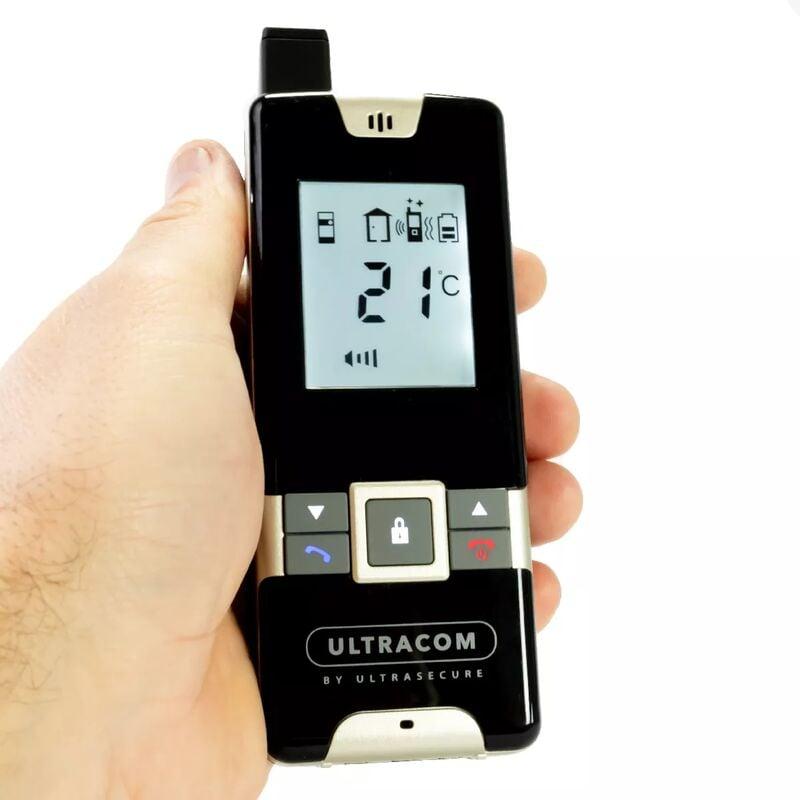 Ultra Secure - Interphone Drive - 100% sans-fil autonome sur piles 600m