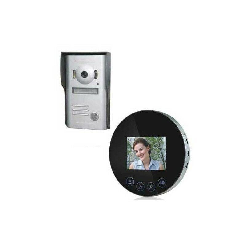 SECURITEGOODDEAL Interphone Video Miroir Rond