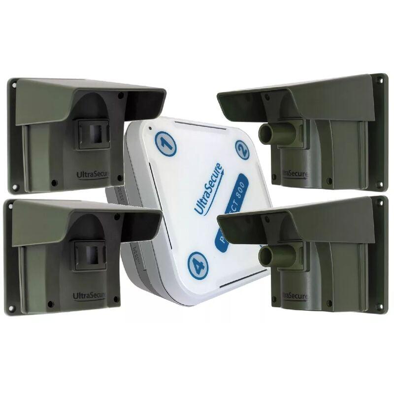 ULTRA SECURE Kit avancé 4 Protect 800 - alarme d'allée sans fil longue distance (1