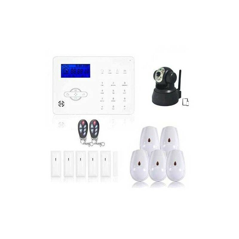 Jod1 - Alarme Maison Sans Fil Revolution Xxl Et Cam Ip
