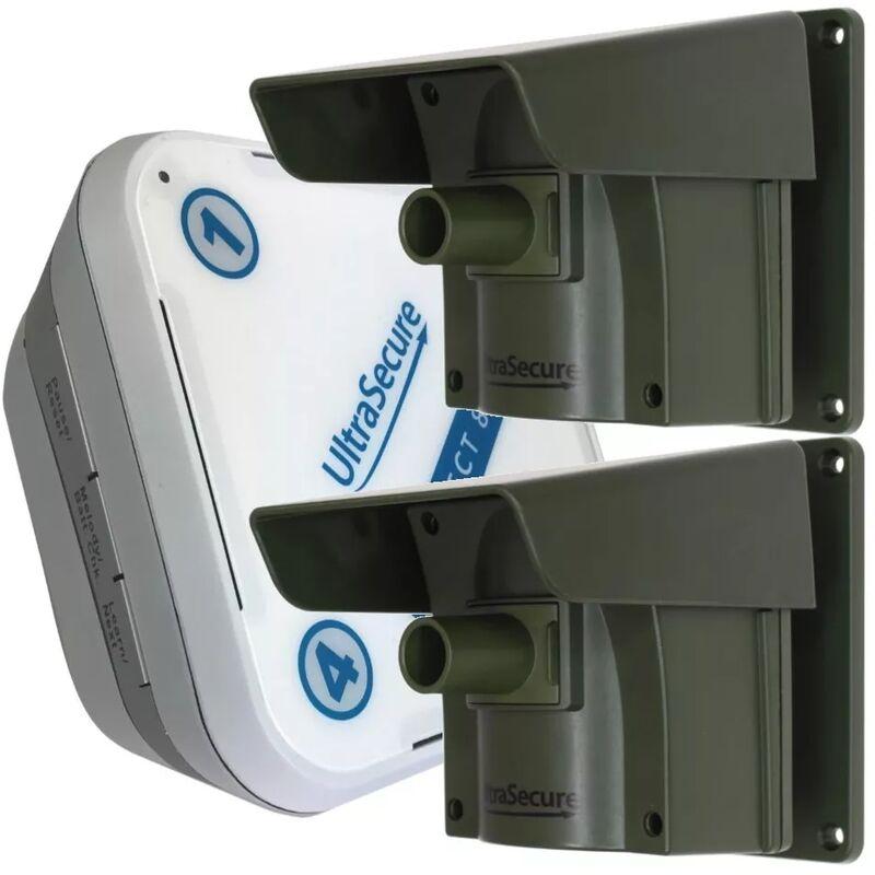 ULTRA SECURE Kit Protect 800 double détection - alerte de passage sans fil longue