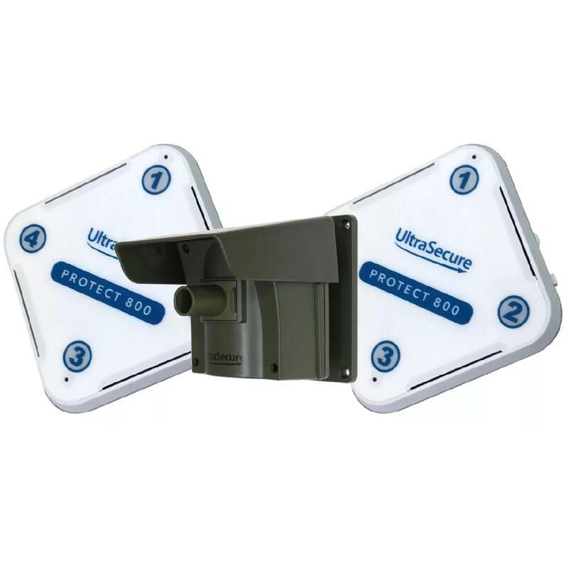 ULTRA SECURE Kit Protect 800 double récepteurs - alarme d'allée sans fil longue
