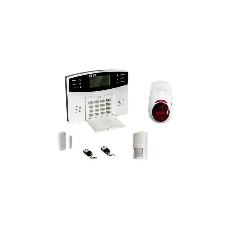 EVOLU7 Pack alarme sans fil + accessoires EVOLU7 GSM 1 pc(s)